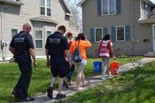 American Red Cross Home Visit