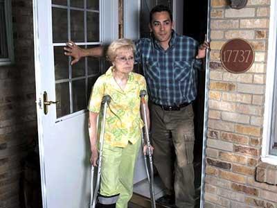 Elderly-woman-escape