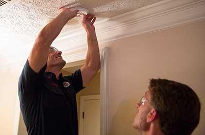 installing smoke alarms